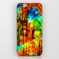 meditation iPhone & iPod Skins featuring  Meditation by shiva camille
