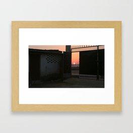 Jharkhand Sunset Framed Art Print