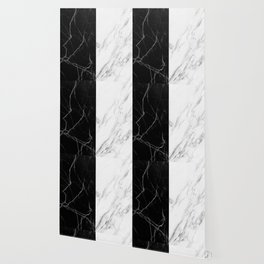 black and white marble Wallpaper