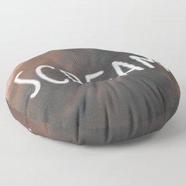 Anxiety Series: Scream Floor Pillow