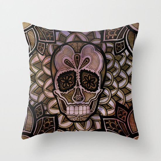 Azucar Throw Pillow