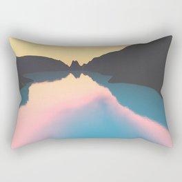 Indonesian crater lakes Rectangular Pillow