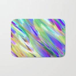 Colorful digital art splashing G401 Bath Mat