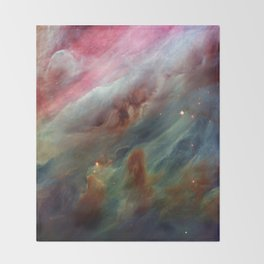The Orion Gas Clouds Throw Blanket