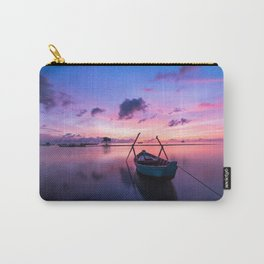 Rowboat and Sunrise on the Water Carry-All Pouch