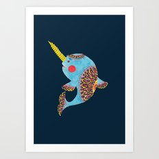The Narwhal Art Print