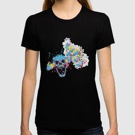 Colorful Skull Lover Gift T Shirt T-shirt