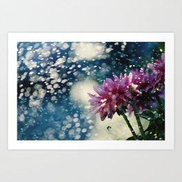 Waterdrops Art Print