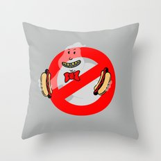 No Ghosts Throw Pillow