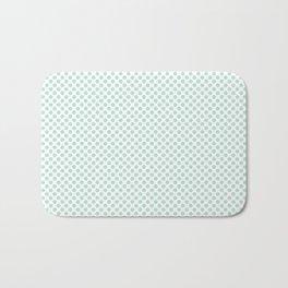 Honeydew Polka Dots Bath Mat