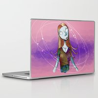 nightmare before christmas Laptop & iPad Skins featuring Sally - Nightmare before christmas by KanaHyde
