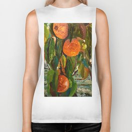 Jimmy and the Giant Peach Tree Biker Tank