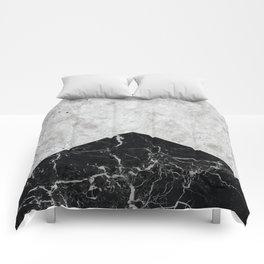 Concrete Arrow Black Granite #844 Comforters