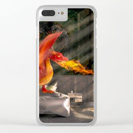 Dragon Relations Clear iPhone Case