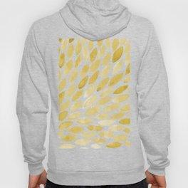 Watercolor brush strokes burst - yellow Hoody
