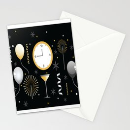 New Years Eve Celebration Stationery Cards