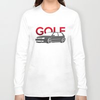 volkswagen Long Sleeve T-shirts featuring Volkswagen Golf Mk4 by Vehicle