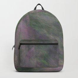 Rosen garden green purple look Backpack
