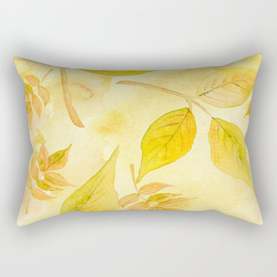 Autumn leaves #13 Rectangular Pillow