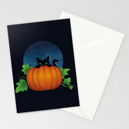 Halloween Peek-a-boo Stationery Cards