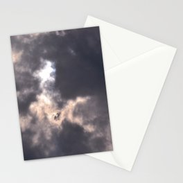 tie dye sky Stationery Cards