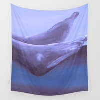 feet Wall Tapestries featuring Landscape with Feet by Lord Egon Will