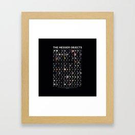 Astrophysics catalogue Framed Art Print