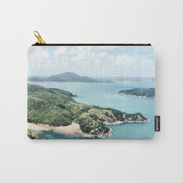 Flying over Whitsundays Carry-All Pouch