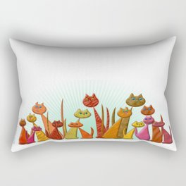 The Vector Cats Rectangular Pillow
