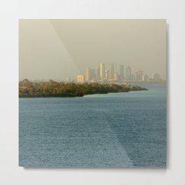 A Cities Coast Line Metal Print