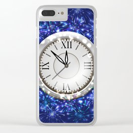 New Year decoration Clear iPhone Case