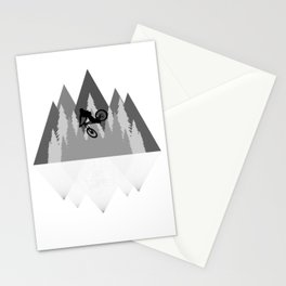 MTB Whip Gray Stationery Cards