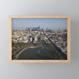 MacArthur Park Los Angeles Framed Mini Art Print