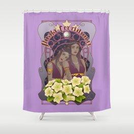 Nuala and Cerridwen Shower Curtain