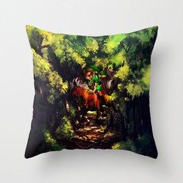 the power of zelda Throw Pillow