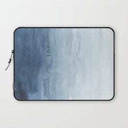 Indigo Abstract Painting | No. 5 Laptop Sleeve