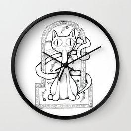 Catilicious Wall Clock