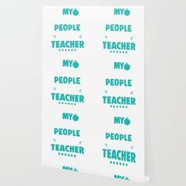 My Favorite People Call Me Teacher Teachers Wallpaper