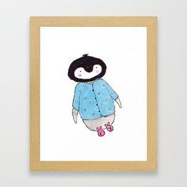 Cozy Kip Framed Art Print