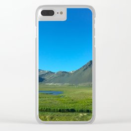 Beautiful Iceland Clear iPhone Case
