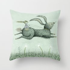 'Runaway' Throw Pillow