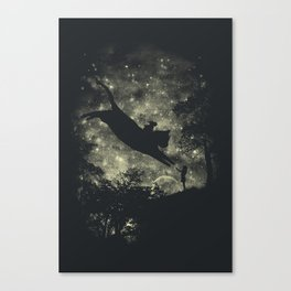 Mysterious Pet Canvas Print