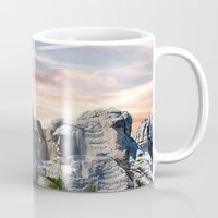 rushmore Mugs featuring Presidential by Judith Lee Folde Photography & Art