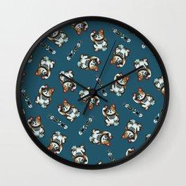 Maneki Neko Marron Wall Clock