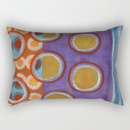 About the Second Reality inside the Bubbles Rectangular Pillow