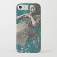 whatever iPhone & iPod Cases featuring Whatever by Imogen Art