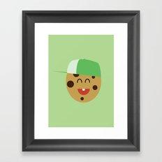 COOKIE SMILE Framed Art Print