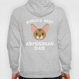 World's Best Abyssinian Dad Hoody