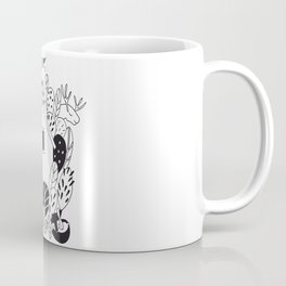 House and animals  in the woods Coffee Mug