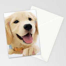 Golden Retriever Pup Stationery Cards